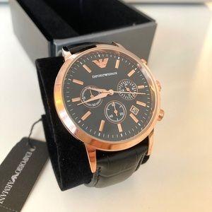  EMPORIO ARMANI_Chronograph Men's Watch_NWT